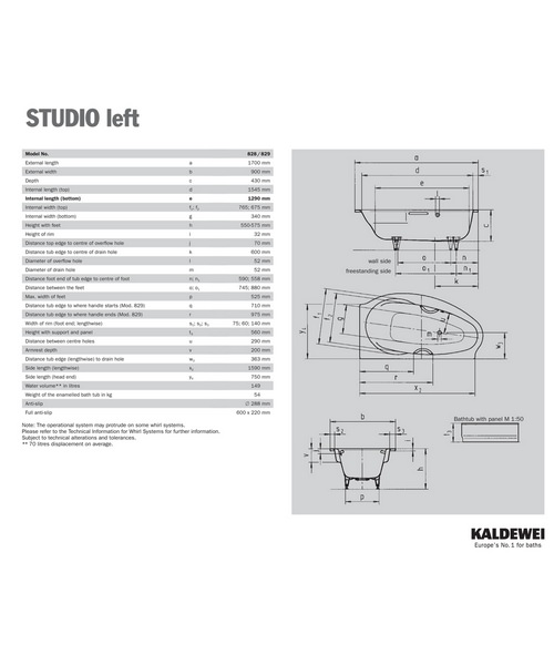 Technical drawing 5539 / 222848030001
