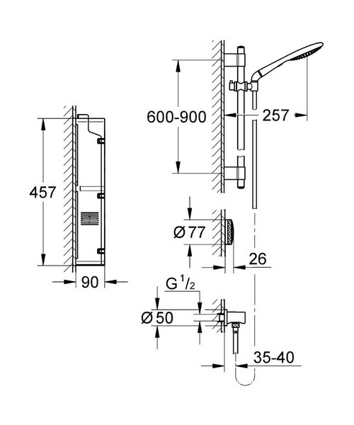 Technical drawing 5659 / 36303000