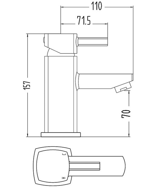 Technical drawing 6012 / TMU305