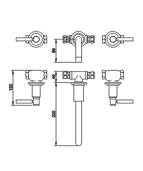 Technical drawing 6692 / TEL317