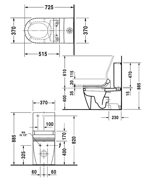Technical drawing 6816 / 2129590000