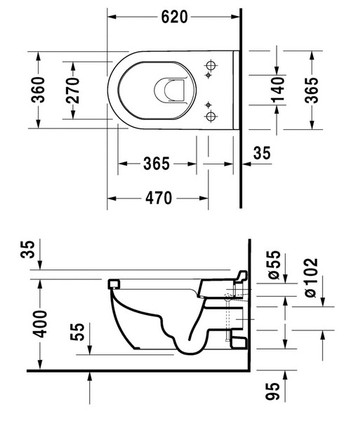 Technical drawing 6865 / 2226590000