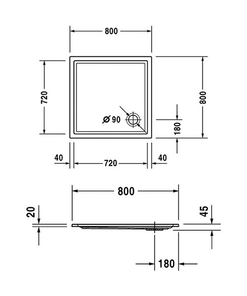 Technical drawing 6921 / 720114000000000