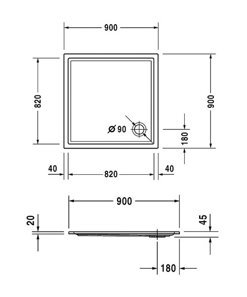Technical drawing 6922 / 720115000000000