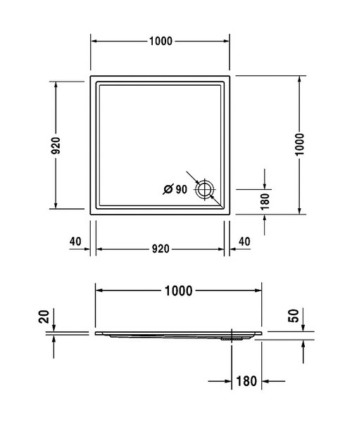 Technical drawing 6923 / 720116000000000