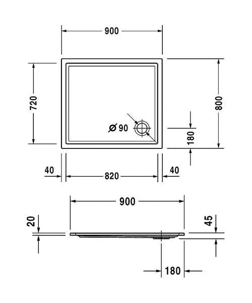 Technical drawing 6924 / 720117000000000