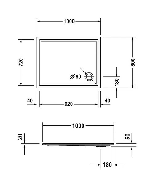 Technical drawing 6926 / 720119000000000