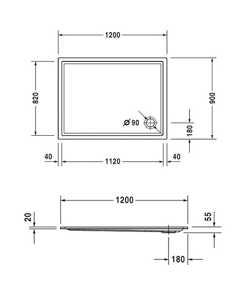 Technical drawing 6929 / 720122000000000