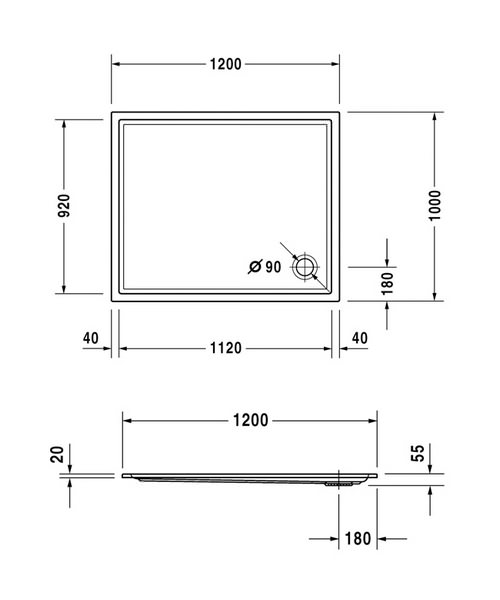 Technical drawing 6930 / 720123000000000