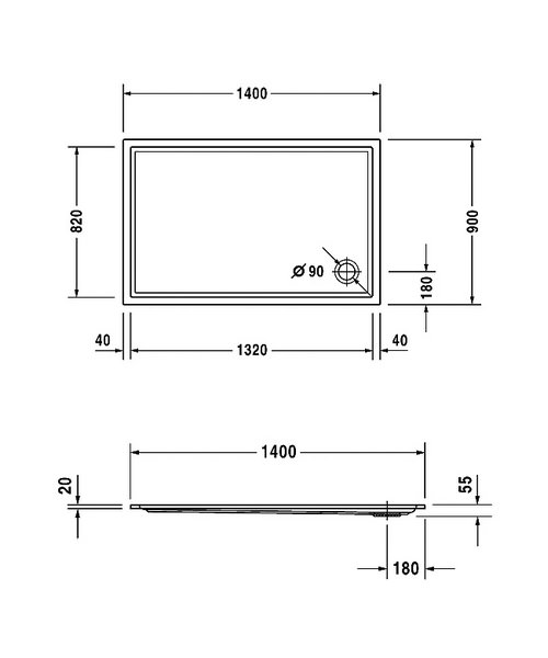 Technical drawing 6933 / 720126000000000