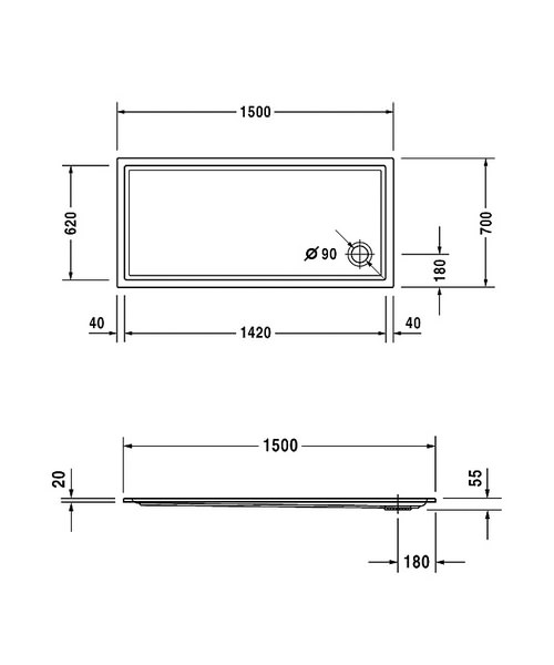 Technical drawing 6934 / 720127000000000