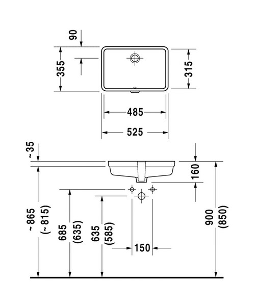 Technical drawing 6957 / 0330480022