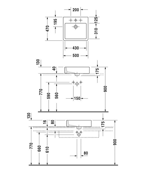 Technical drawing 6958 / 0452500000