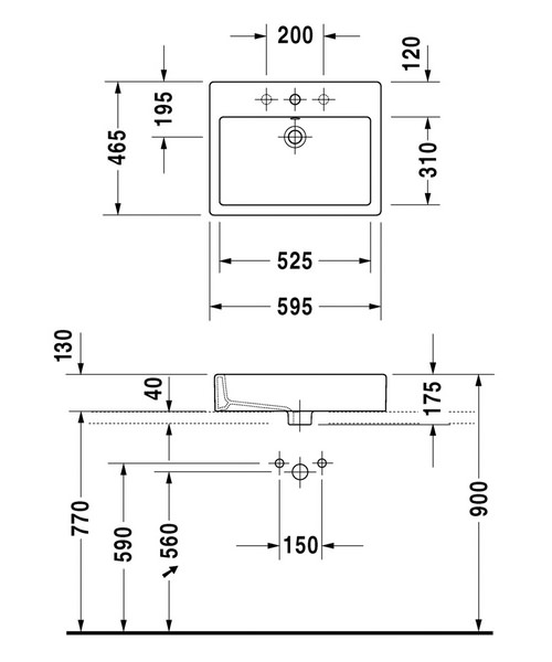 Technical drawing 6959 / 0452600060