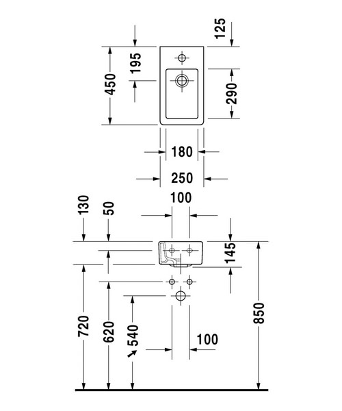Technical drawing 6980 / 0702250000