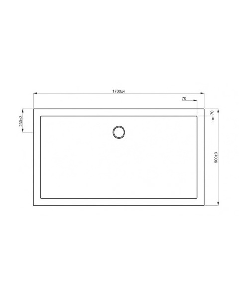 Technical drawing 7057 / ST0R91700