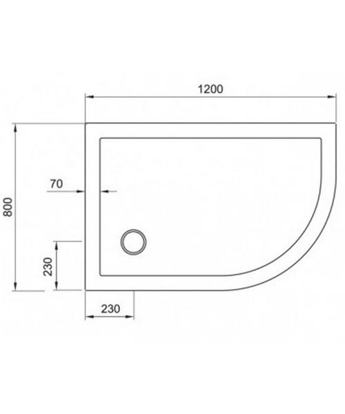Technical drawing 7063 / STQ81200R