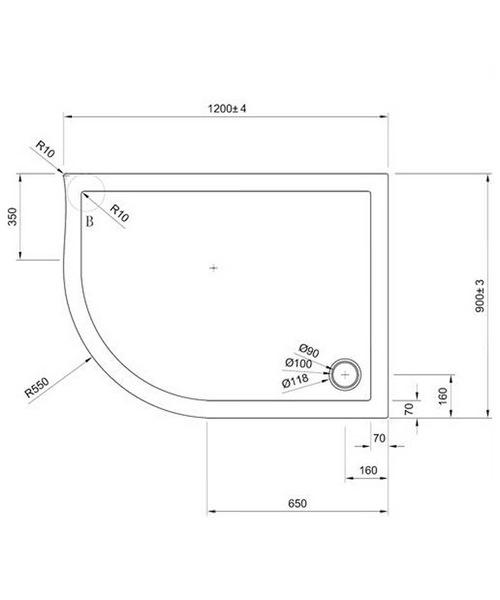 Technical drawing 7064 / STQ91200L
