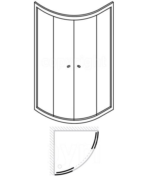 Technical drawing 7072 / EQDSC1000