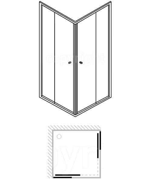 Technical drawing 7087 / ECESC0760