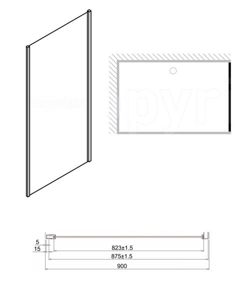 Technical drawing 7092 / ESPSC0900