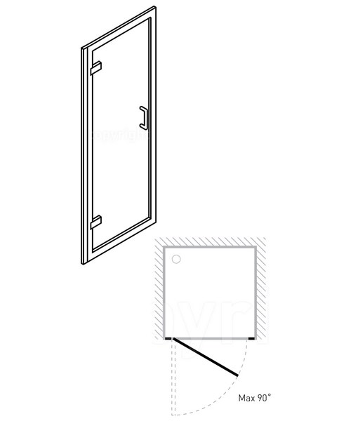 Technical drawing 7096 / 6107