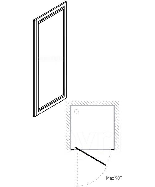 Technical drawing 7118 / 7036