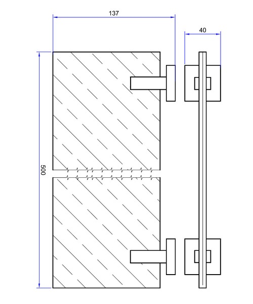 Technical drawing 7134 / ZE001C