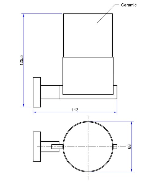 Technical drawing 7135 / ZE003C