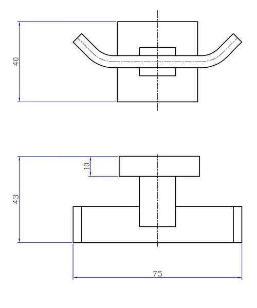 Technical drawing 7143 / ZE022C