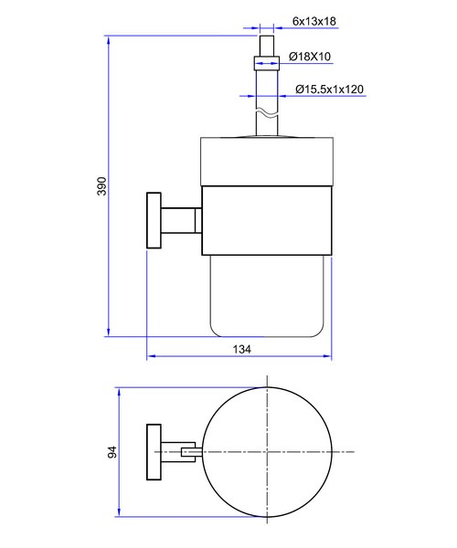Technical drawing 7145 / ZE025C