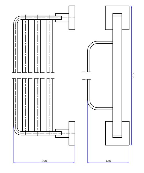 Technical drawing 7146 / ZE026C