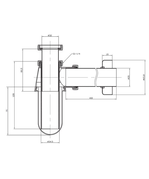 Technical drawing 7150 / BTR0403C