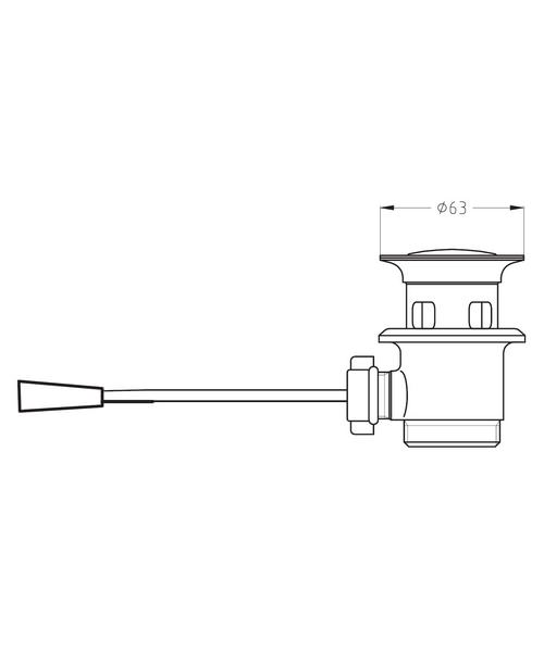Technical drawing 7152 / BSW0111C
