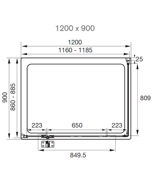 Technical drawing 7230 / AQ1021