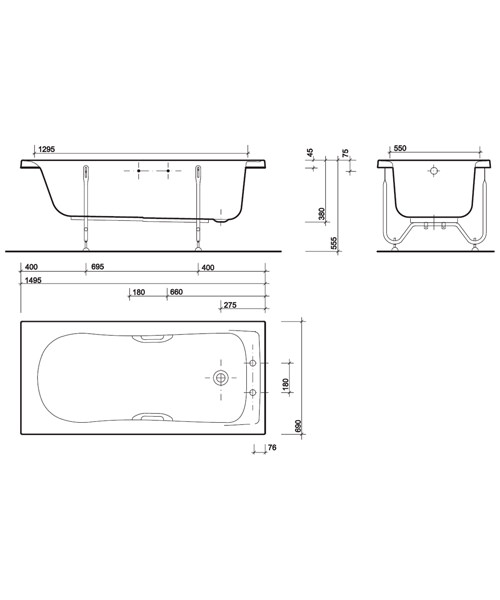 Technical drawing 7457 / GN8420WH