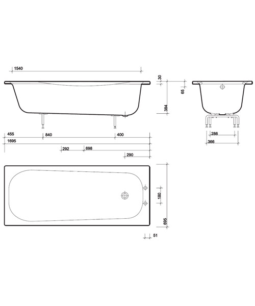 Technical drawing 7478 / NE9590WH