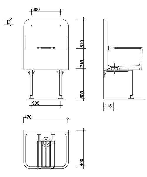 Technical drawing 7635 / FC1044WH
