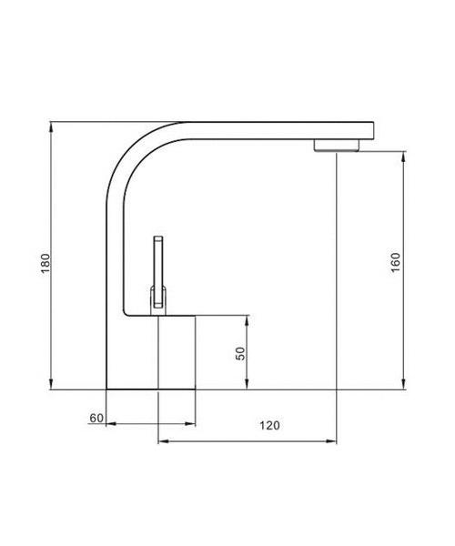 Technical drawing 8006 / CU110DNC