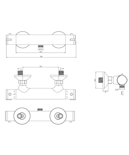 Technical drawing 8028 / EV1210EC