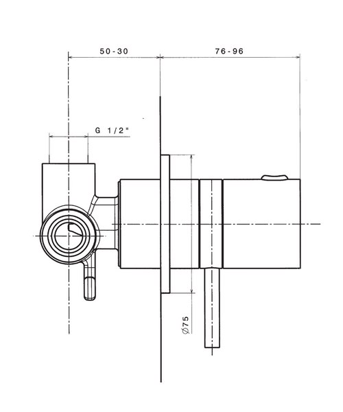 Technical drawing 8034 / KL0010RC
