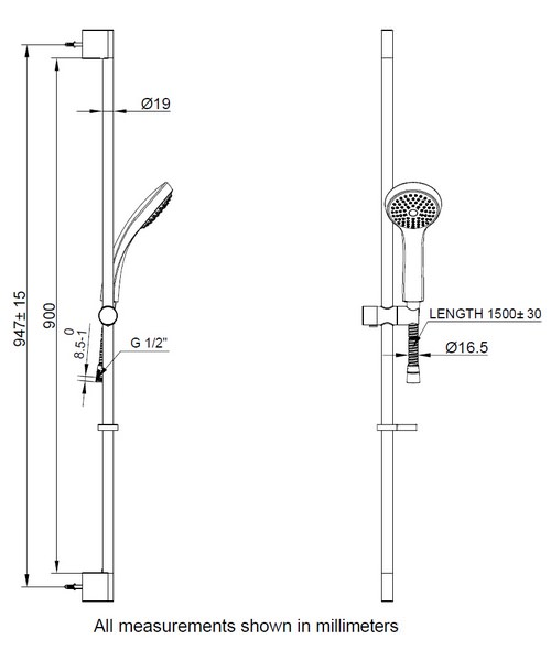 Technical drawing 8105 / SK980C