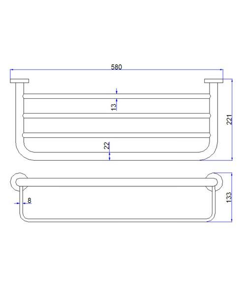 Technical drawing 8108 / CE026C
