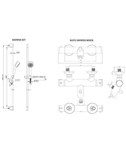 Technical drawing 8186 / EV1211EC