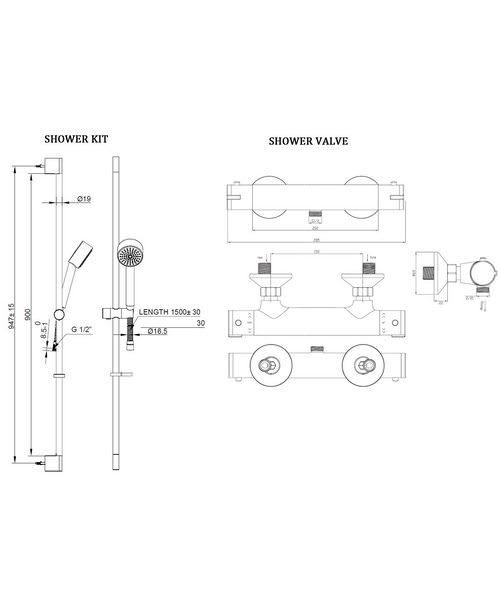 Technical drawing 8188 / EV1210EC