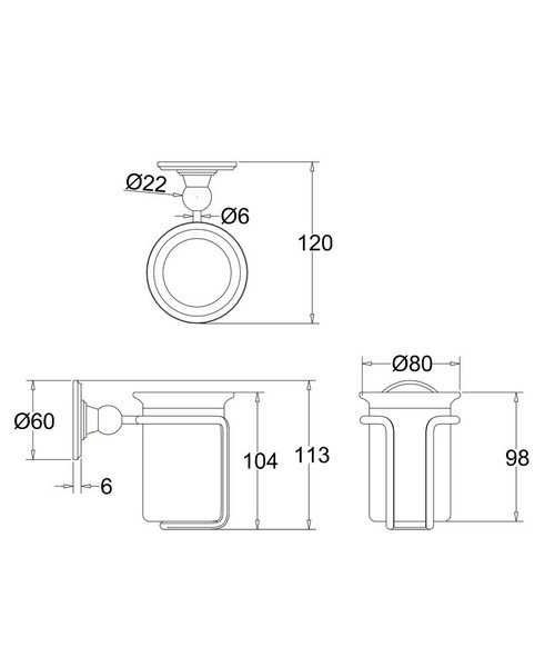Technical drawing 8224 / A2CHR