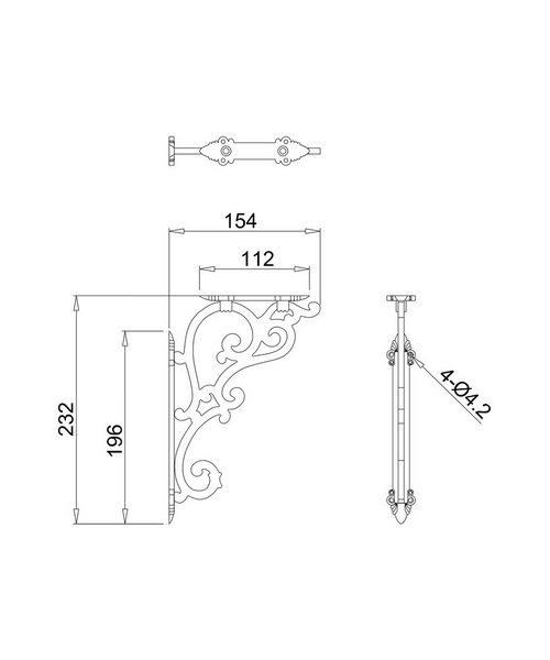 Technical drawing 8226 / T32CHR
