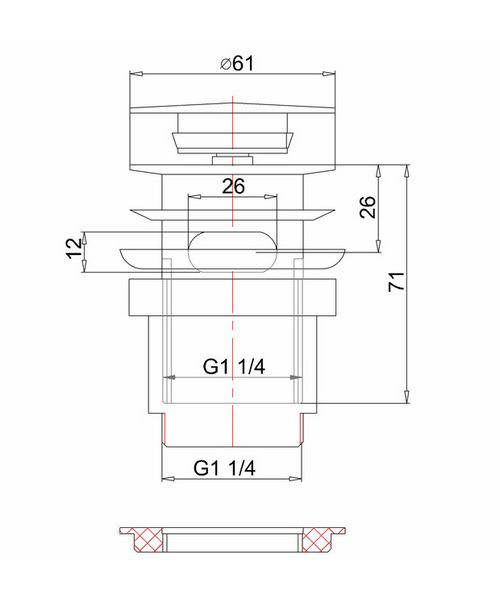 Technical drawing 8236 / W11