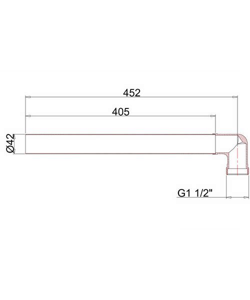 Technical drawing 8242 / W10B