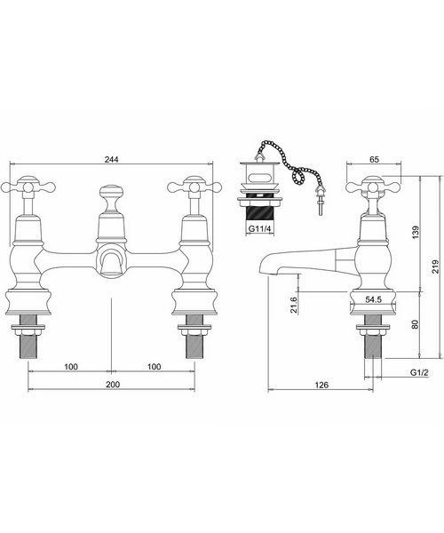 Technical drawing 8269 / CLR10